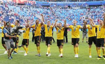 Football: Belgium vs England at World Cup