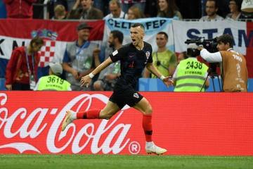 クロアチア代表のペリシッチ photo/Getty Images