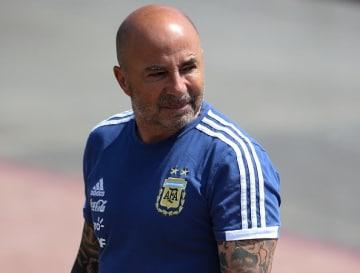 アルゼンチン代表の指揮官を降りることになったサンパオリ監督 photo/Getty Images