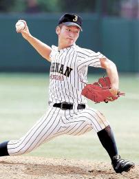 仙台城南-富谷 富谷打線を7回1得点に抑える好投を見せた仙台城南の安田