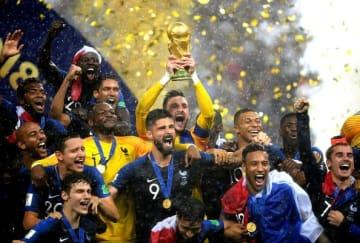 ムバッペの快足を活かした速攻で強豪をなぎ倒し、頂点を極めたフランス代表の面々 photo/Getty Images