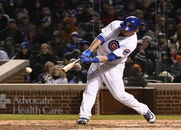 Kyle Schwarber makes diving catch in Cubs' 5-4 loss to Yankees