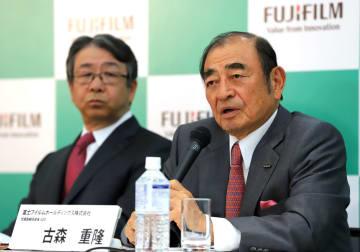 富士フイルムホールディングス・古森重隆会長兼CEO(写真:つのだよしお/アフロ)