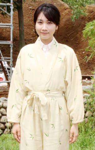 連続ドラマ「この世界の片隅に」でヒロインのすずを演じている松本穂香さん