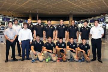 トルコへ向かった男子グレコローマンの全日本チーム