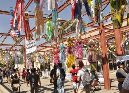 二世週祭で行われる七夕祭りの様子