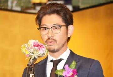 第26回橋田賞授賞式に登壇した大杉漣さんの長男・大杉隼平