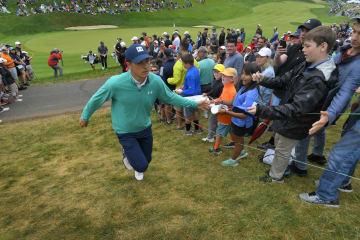 前年優勝のスピースはマスターズでの3位以降、トップ20フィニッシュがない Photo by Stan Badz/PGA TOUR