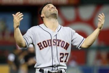 18日の球宴に出場したアストロズのホセ・アルトゥーベ【写真:Getty Images】