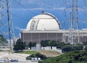 九州電力玄海原発4号機=6月、佐賀県玄海町