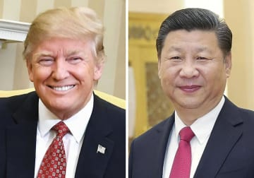 U.S. President Trump and Chinese President Xi