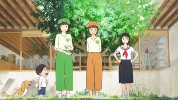 「GREEN DA・KA・RA」と細田守監督最新作「未来のミライ」コラボした新CM「未来のみんな」編の一場面