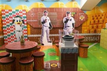 ZOZOマリンスタジアム内にオープンする「LOTTE OKASHI STADIUM」の様子【写真提供:千葉ロッテマリーンズ】