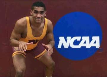 Northern State University gay wrestlerJustice Horn on coming out