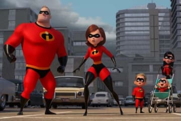 『インクレディブル・ファミリー』とパ・リーグの夢のタッグが実現【写真:c2018 Disney/Pixar. All Rights Reserved.】