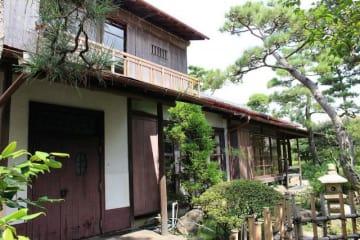旧氷室家住宅主屋(茅ケ崎市提供)