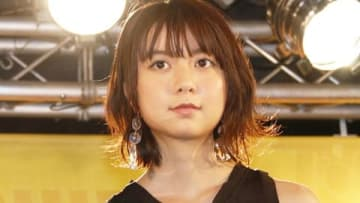 劇場版アニメ「未来のミライ」のオリジナル・サウンドトラック発売記念イベントに登場した上白石萌歌さん