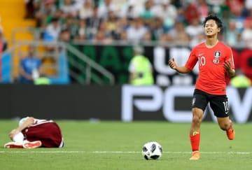 イ・スンウはすでにワールドカップでも活躍 photo/Getty Images
