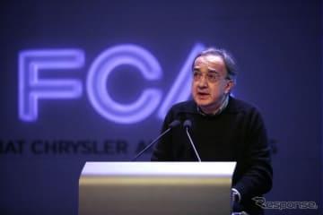 FCAのセルジオ・マルキオンネCEO(資料画像)
