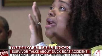 Tia Coleman, Survivor Of Tragic Missouri Duck Boat Incident, Tells Her Story