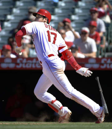 Baseball: Angeles' Ohtani
