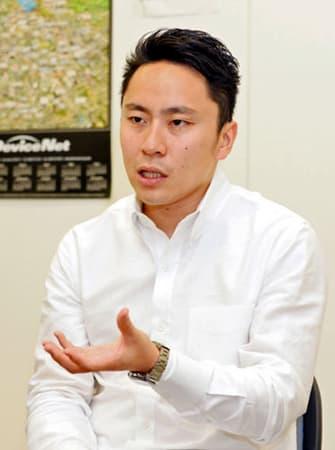 2年後に迫った東京五輪への展望を語る太田雄貴・日本フェンシング協会会長(大阪市北区)