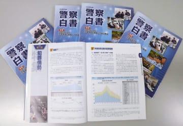 警察庁が公表した2018年版の警察白書