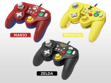 『クラシックコントローラー for Nintendo Switch』が10月発売予定―マリオ/ゼルダ/ピカチュウの3種類で登場!