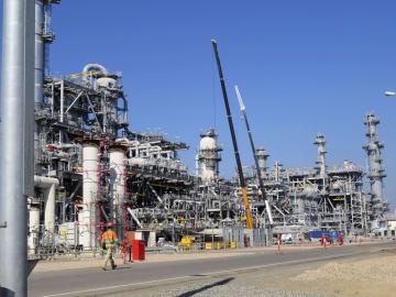 Inpex Corp.'s LNG facility in Australia
