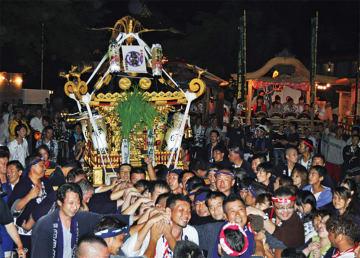鈴鹿明神社で平成最後の「例大祭」圧巻の宮入は必見!