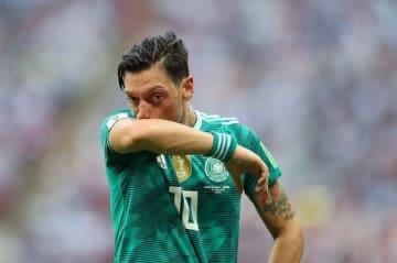 ドイツ代表引退を表明したエジル photo/Getty Images