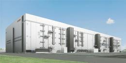 20年の製品出荷開始を目指す製造棟の完成予想図
