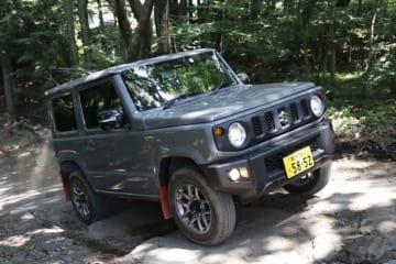 スズキ 新型ジムニー XC(5MT) ボディカラー:ミディアムグレー