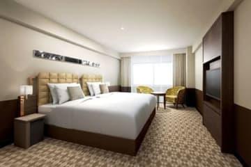 京都センチュリーホテルが改装する客室のイメージ