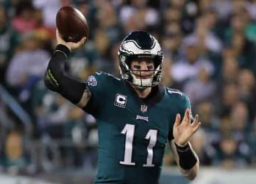 Carson Wentz leads Eagles to Week 7 win vs. Redskins