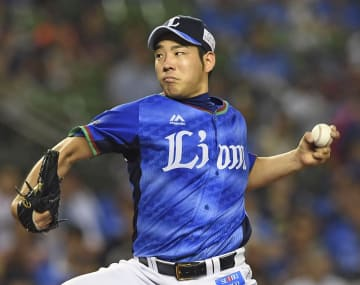 Yusei Kikuchi of the Seibu Lions