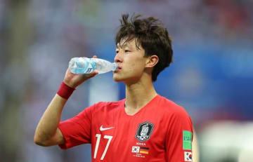 韓国代表のイ・ジェソン photo/Getty Images