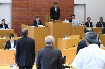 前田町長の不信任決議案が賛成多数で可決されたみなかみ町議会