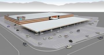 PLANTが滋賀県高島市に開設予定の新店舗のイメージ図