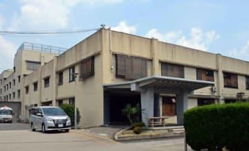 連日の猛暑で熱中症を訴える収容者が続出している京都拘置所(京都市伏見区)