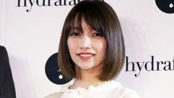 米の美容医療機器・化粧品メーカー「ハイドラフェイシャル」のイベントに登場した後藤真希さん