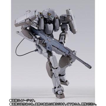 アニメ「フルメタル・パニック! Invisible Victory」のM9 ガーンズバックのアクションフィギュア「METAL BUILD ガーンズバック Ver.IV」(C)賀東招二・四季童子/KADOKAWA/FMP!4