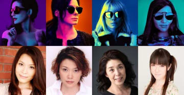 左から順番に吹替キャストの甲斐田裕子、本田貴子、塩田朋子、釘宮理恵 - (C) 2018 WARNER BROS. ENTERTAINMENT INC., VILLAGE ROADSHOW FILMS NORTH AMERICA INC. AND RATPAC-DUNE ENTERTAINMENT LLC