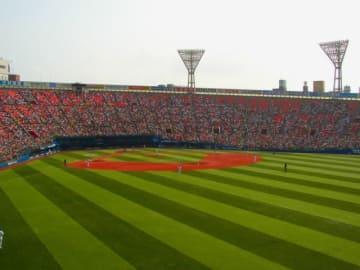 保土ヶ谷球場とならび神奈川の代表球場である横浜スタジアム【写真:編集部】