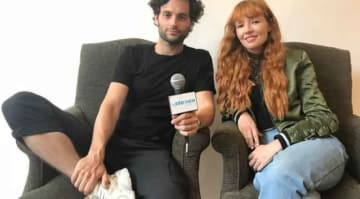 Penn Badgley & Stef Dawson On 'The Paper Store,' Acting Chemistry [VIDEO EXCLUSIVE]