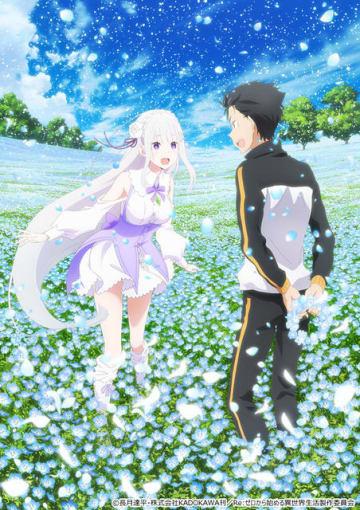 OVA『Re :ゼロから始める異世界生活 Memory Snow』キービジュアル(C)長月達平・株式会社KADOKAWA刊/Re:ゼロから始める異世界生活製作委員会