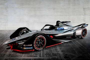NISSAN Formula E カラーリングコンセプト(2018年)
