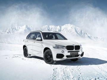 BMW X5「LIMITED WHITE」。(画像:ビー・エム・ダブリュー発表資料より)