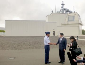 Japan defense chief visits Aegis missile defense test site in Hawaii