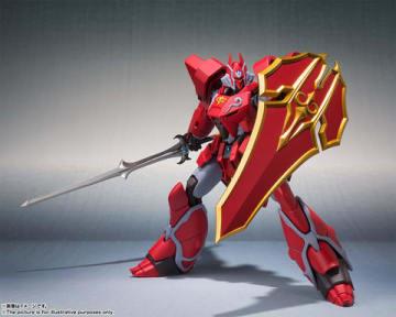 OVA「機甲界ガリアン 鉄の紋章」の鉄巨神のアクションフィギュア「ROBOT魂 <SIDE PB> 鉄巨神」(C)サンライズ